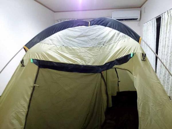 スノーピーク SDE-001 アメニティドームがお部屋にドーン